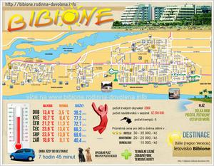 Bibione je oblíbená dovolenková destinace